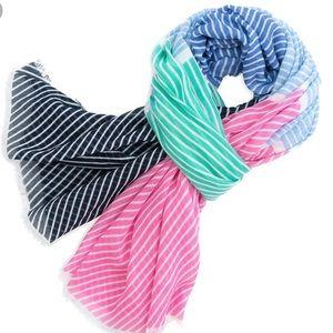 NWT Southern Tide regatta stripe scarf